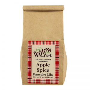 willow creek mill apple spice pancake mix