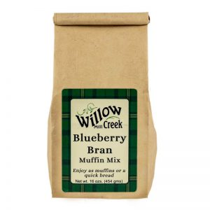 willow creek mill blueberry bran muffin mix