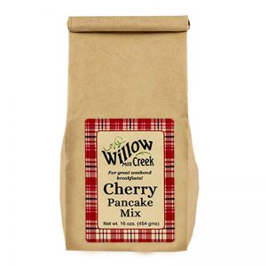 willow creek mill cherry pancake mix