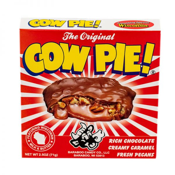 baraboo candy cow pie chocolate candy