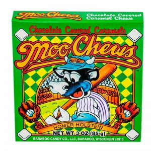 baraboo candy moo chews chocolate caramel candy