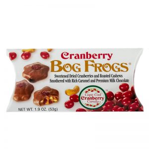 cape cod cranberry bog frogs chocolate candy