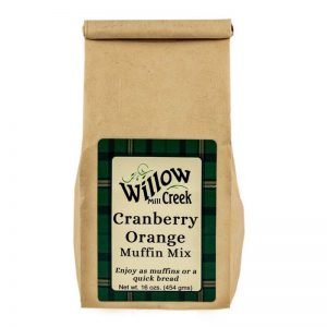 willow creek mill cranberry orange muffin mix
