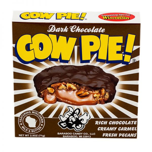baraboo candy dark chocolate cow pie chocolate candy