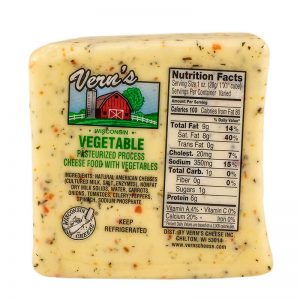 vern's garden vegetable cheese