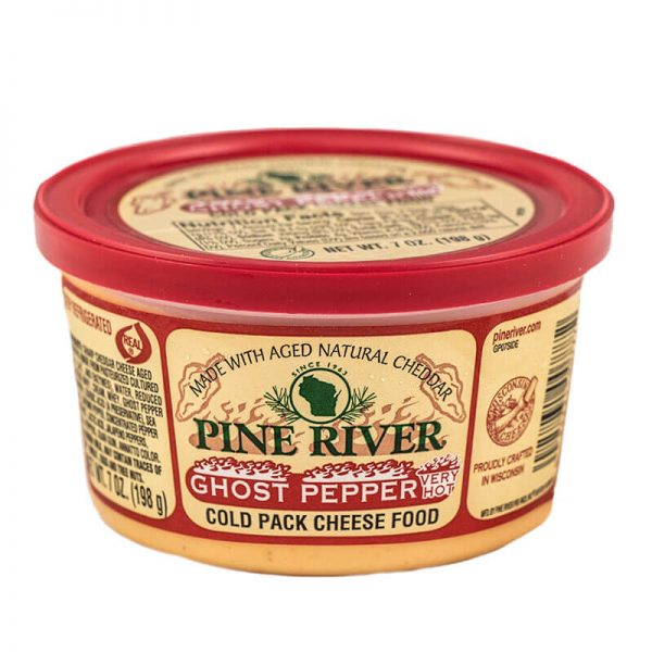 pine river ghost pepper cheese spread