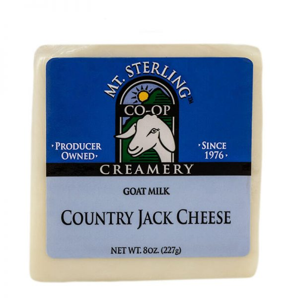 mt. sterling country jack plain goat cheese