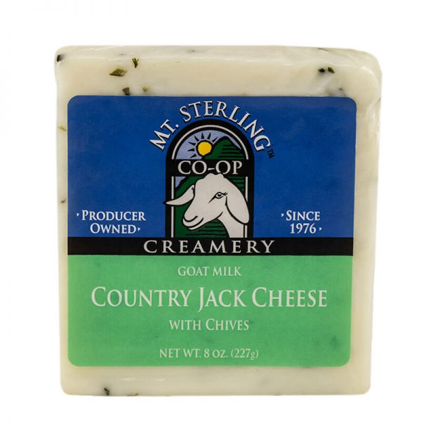 mt. sterling chive jack goat cheese
