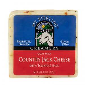 mt. sterling tomato basil jack goat cheese