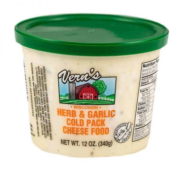 vern's herb & garlic cheese spread