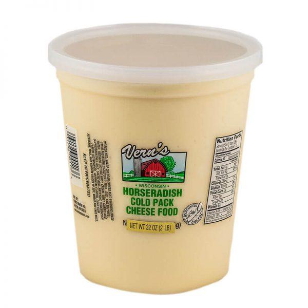 vern's horseradish cheese spread
