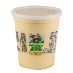 Vern's Cheese 2lbs horseradish cheese spread