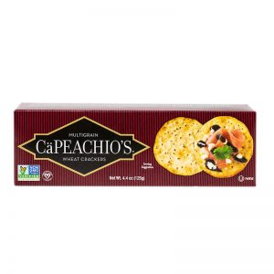 capeachio's multigrain wheat crackers
