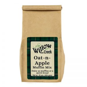 willow creek mill oat n apple muffinf mix