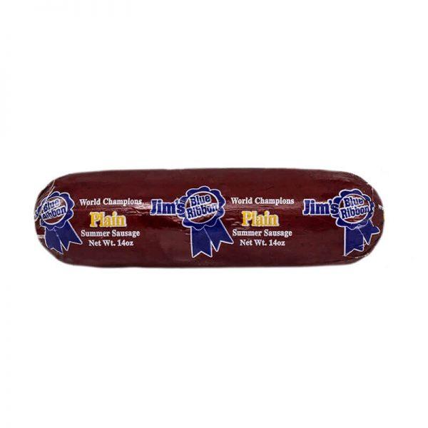 jim's blue ribbon original summer sausage
