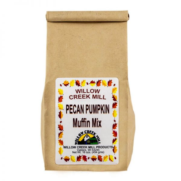 willow creek mill pecan pumpkin muffin mix