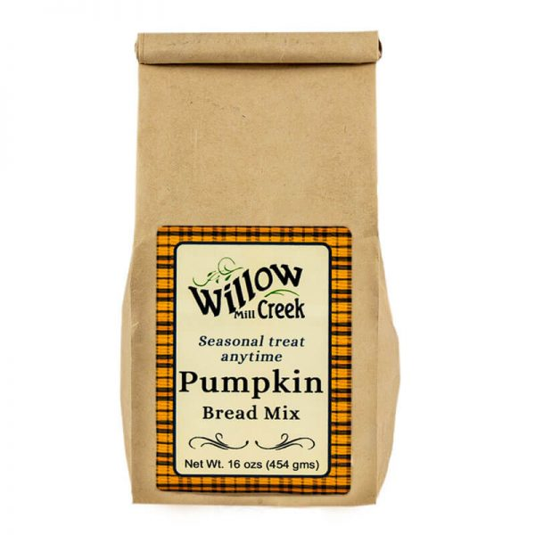 willow creek mill pumpkin bread mix