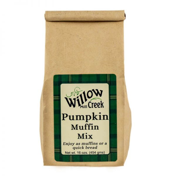 willow creek mill pumpkin muffin mix
