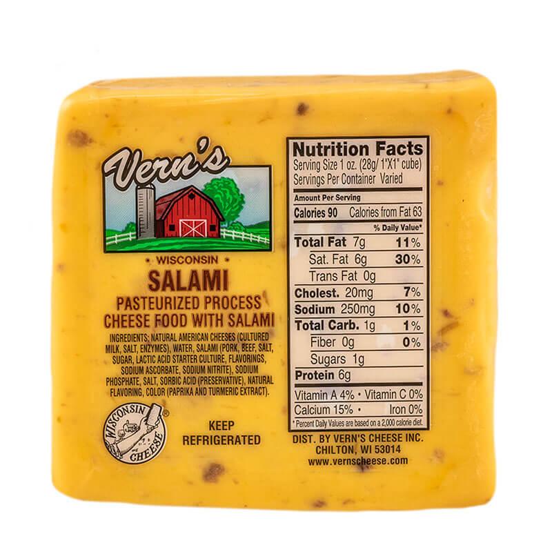 Vern's Salami Cheese 1lb