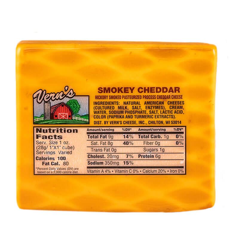 Vern's Smokey Cheddar Cheese 12oz