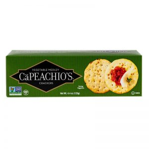 capeachio's vegetable crackers