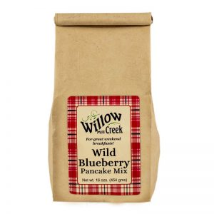 willow creek mill wild blueberry pancake mix