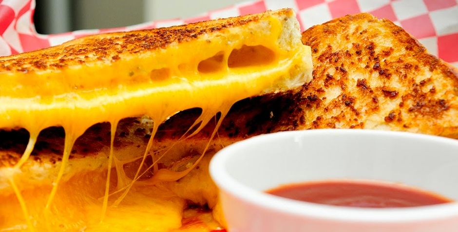 Vern's Wisconsin pepper jack grilled cheese recipe